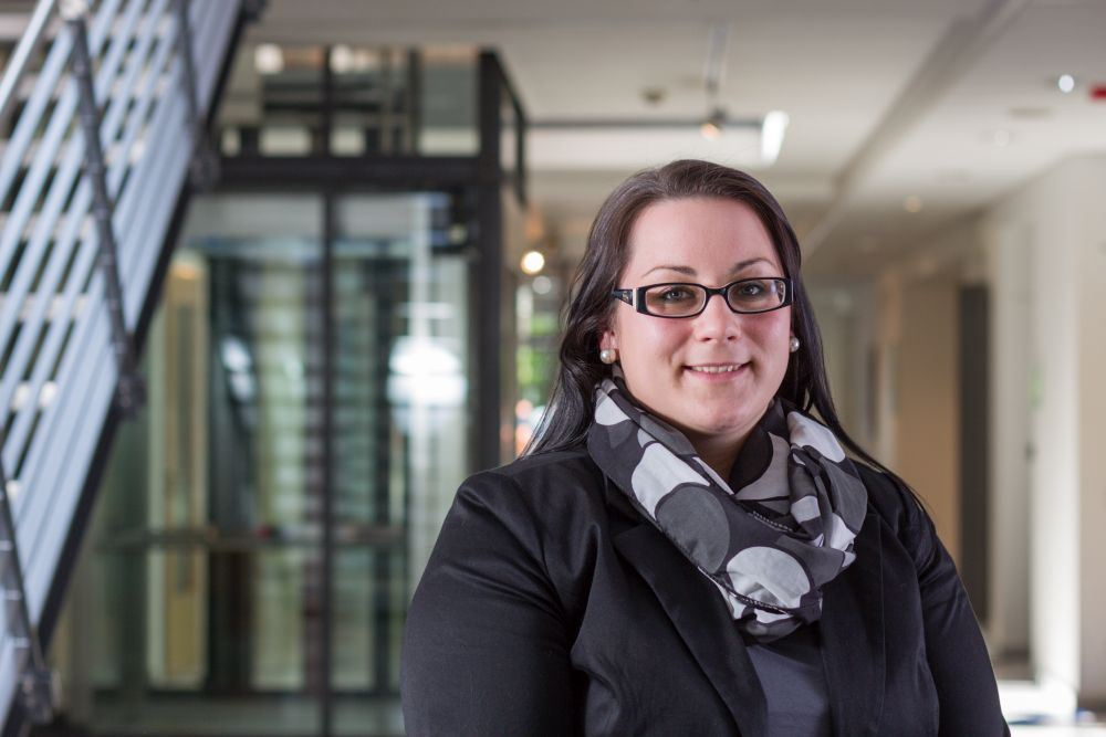 Carolin-Hohmann ist die Zentrumsmanagerin des ITZ am ehemaligen Fuldaer Schlachthof