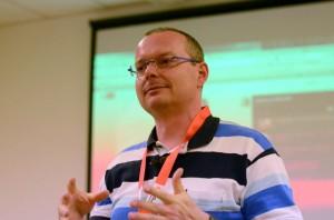 Erzählt vom Nutzen und den Eindrücken des ersten BarCamps in Fulda: Online-Marketing-Experte Thomas Noll