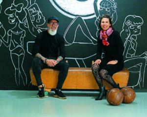 Tanja Kropp und Claus Pieper von Urbanic-Fitness Fulda