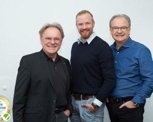 Sven, Otmar und Alexander Baumann