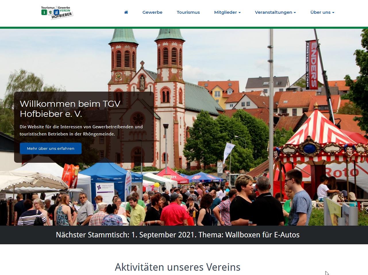 TGV Hofbieber Website