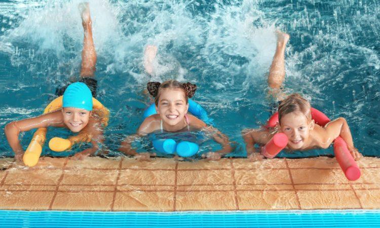 Kinderschwimmkurse bei der SVK Schwimmschule