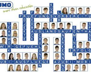 34 neue Auszubildende und 8 FOS-Jahrespraktikanten wurden von der JUMO-Geschäftsleitung und ihren Ausbildern am 3. August 2020 zum Start in ihren neuen Lebensabschnitt begrüßt.