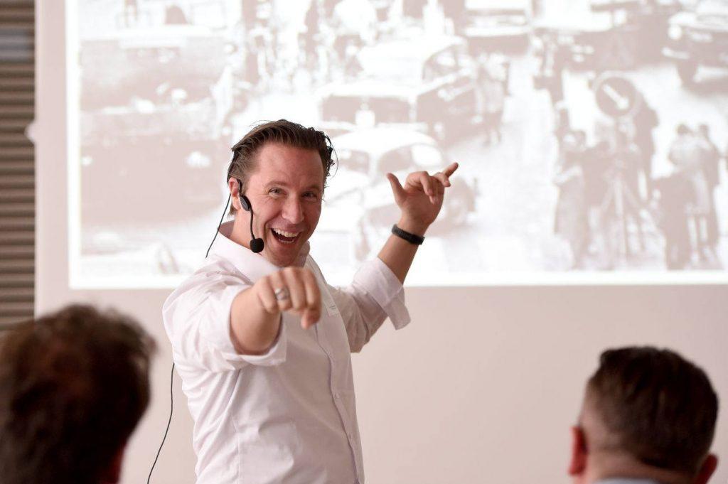 Prof. Clemens Skibicki hielt die Keynote im Rahmen der Vorabendveranstaltung (Foto: Marzena Seidl)