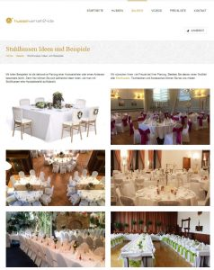 Viele Dekoideen für Hochzeiten und Feierlichkeiten gibt es in der Galerie