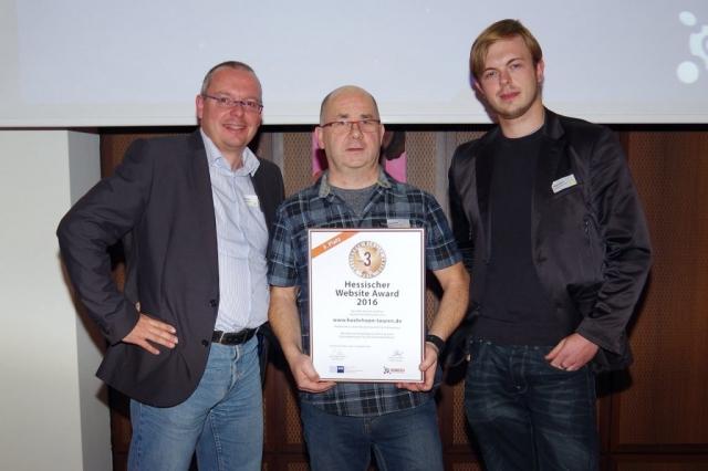 Das Team: Thomas Noll, Kurt Mihm und Wlad Leirich