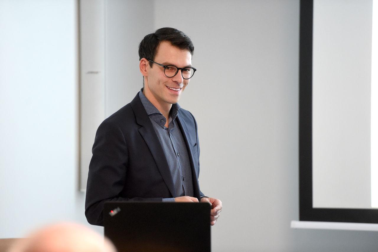 """: """"Schwerpunkt im Bereich Industrie 4.0"""": Clustermanager Christian Vey präsentierte den Jahresrückblick"""