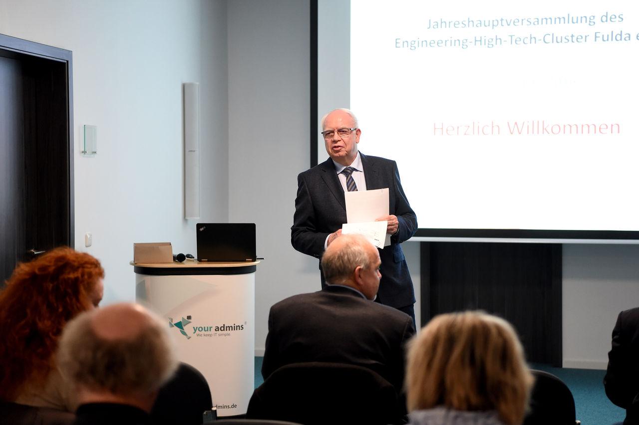 Bernhard Juchheim wurde als Vorsitzender des Vereins einstimmig bestätigt.