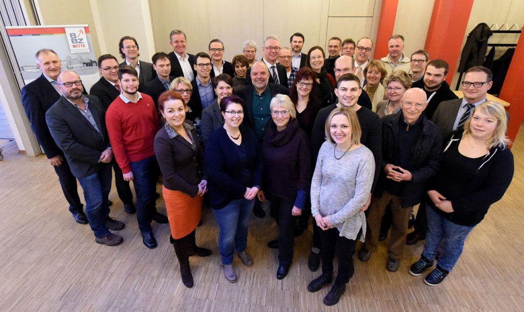 1. Gründer und Berater gehen voller Optimismus in das Jahr 2017. Foto: Marzena Seidel