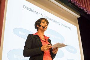 2.Viktoria Thur referierte über den American Way of Networking