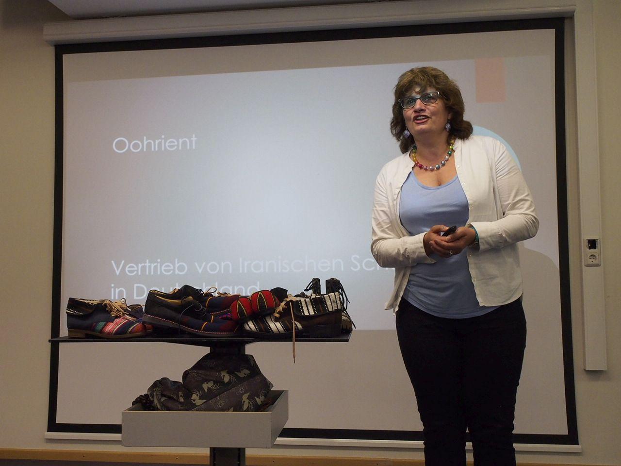 Redpath: Holle Redpath will in Fulda vegane Schuhe vertreiben.
