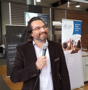 Markus Gold, Leiter des Digital Unit bei Mercedes Kunzmann, informierte über die Auswirkungen der Digitalisierung auf den Automobilhandel