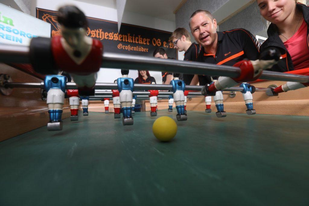 Neue Kickertische für der Verein Osthessenkicker