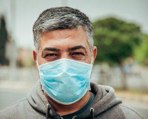 Maske Handwerker