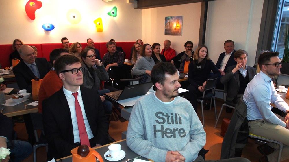 Rund 40 Teilnehmer folgten dem informativen Vortrag von Martin Räth.