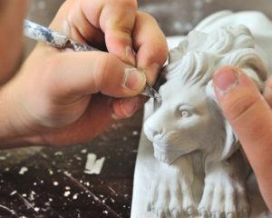 Bildhauer Handwerk