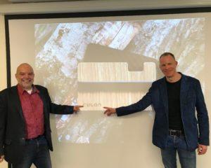 Steffen Göbel (rechts) und Regionalmanager Christoph Burkard (links): Foto Region Fulda