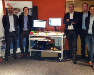 Die Experten des Mittelstand 4.0 Kompetenzzentrums Darmstadt, der Unternehmen A&S Engineering und FD/METHCON sowie des Engineering-High-Tech-Clusters zeigten, wie sich dank der Digitalisierung Effizienzsteigerungen erzielen lassen. Foto: privat.