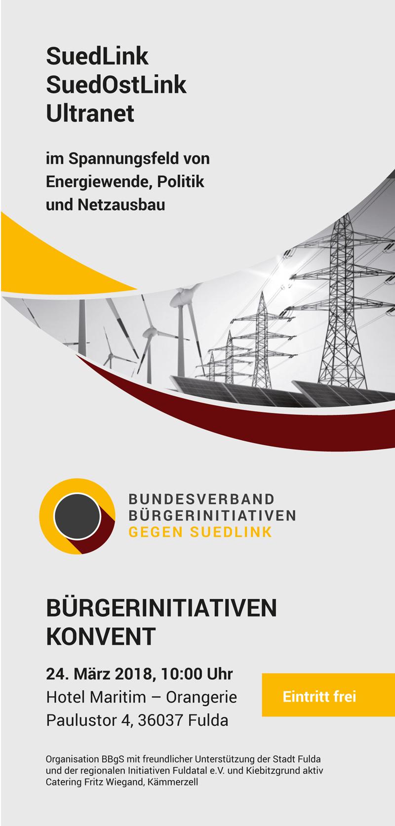 Einladung zum Bürgerkonvent Energiewende