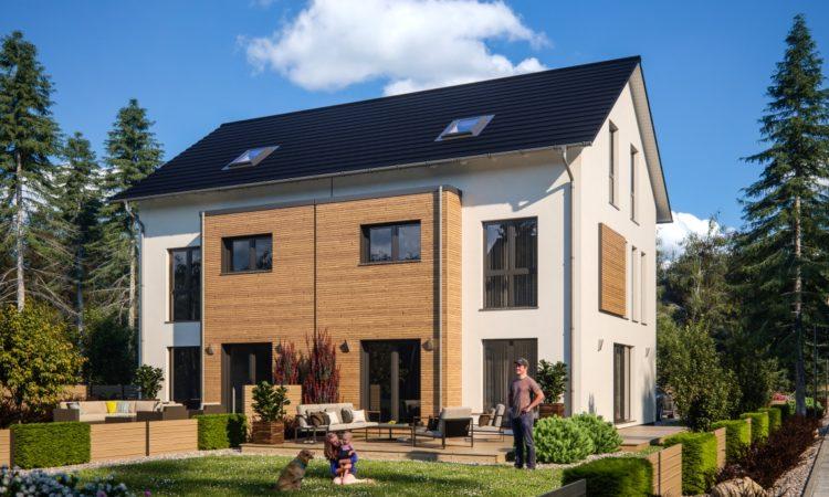 Neue Doppelhäuser von RENSCH-HAUS - Wirtschaftspresse Fulda