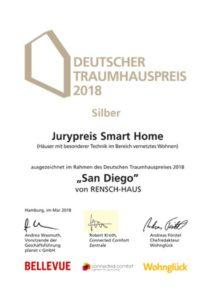 """Silber für den """"Jurypreis Smart Home"""