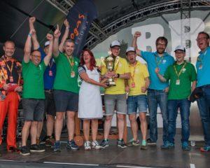 German Barbecue Association: Die Rhöner Heimatgriller werden für ihren zweiten Platz bei der Plancha-Meisterschaft 2017 ausgezeichnet.