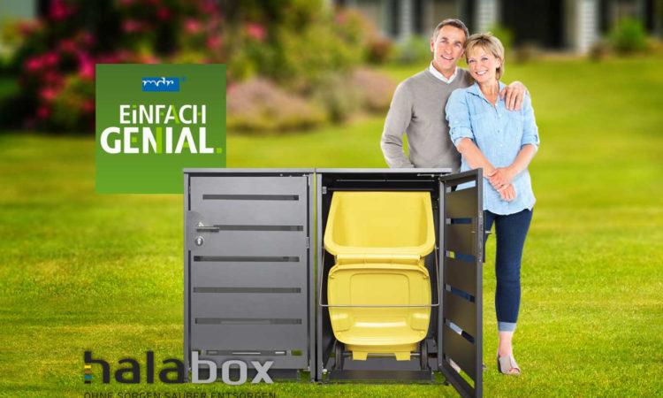 """Die halabox wurde bei """"Einfach Genial"""" gezeigt"""