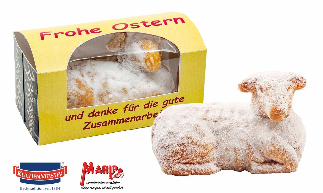 Osterlamm von MARIP-Werbelebensmittel