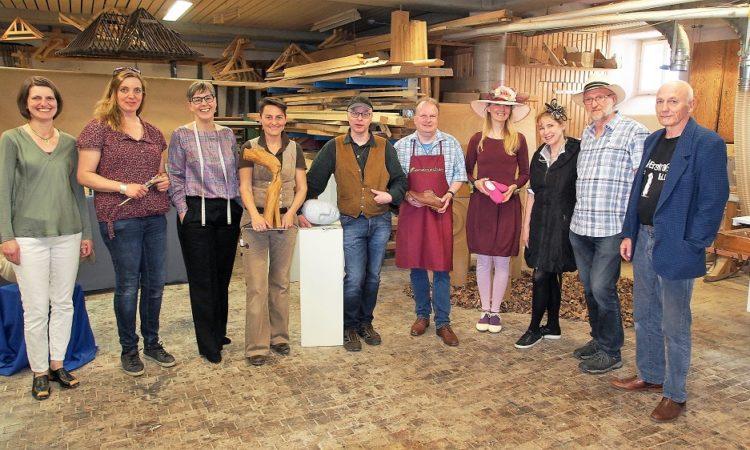 Aussteller der Wertfoll-Ausstellung in Johannesberg