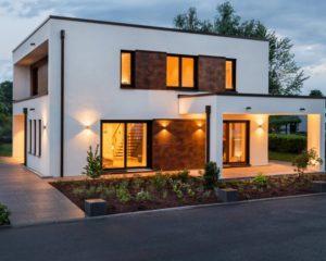 Musterhaus Victoria von RENSCH-HAUS - Terrassenansicht