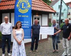 Lions-Club Lauterbach-Vogelsbergkreis unterstützt schwerstkranke Kinder