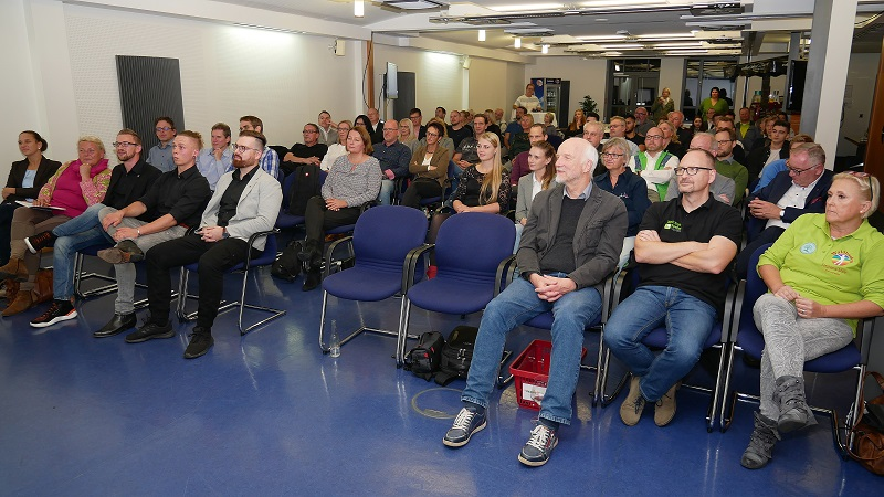 Gut 70 Besucher kamen zum 13. Fuldaer Innovationsabend ins ITZ Fulda. Foto: Michael Kiel, Region Fulda GmbH