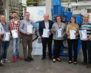 Jubilare der Uth GmbH aus Fulda