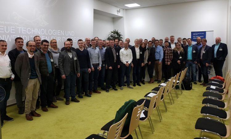 3D-Experten unter sich – Mitglieder und Gäste des Engineering-High-Tech Cluster Fulda e.V bei der EDAG – Foto: Region Fulda GmbH – Christoph Burkard