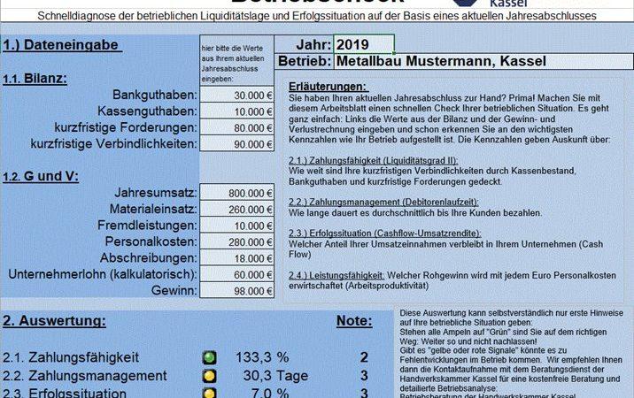 Betriebscheck Handwerkskammer Kassel