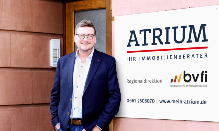 Geschäftsführer Guido Prinzhorn von ATRIUM Immobilien