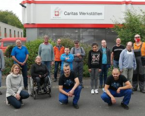Gruppenbild Caritas Werkstätten