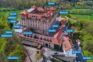 Virtueller 360-Grad Rundgang im Lietz Internat Schloss Bieberstein