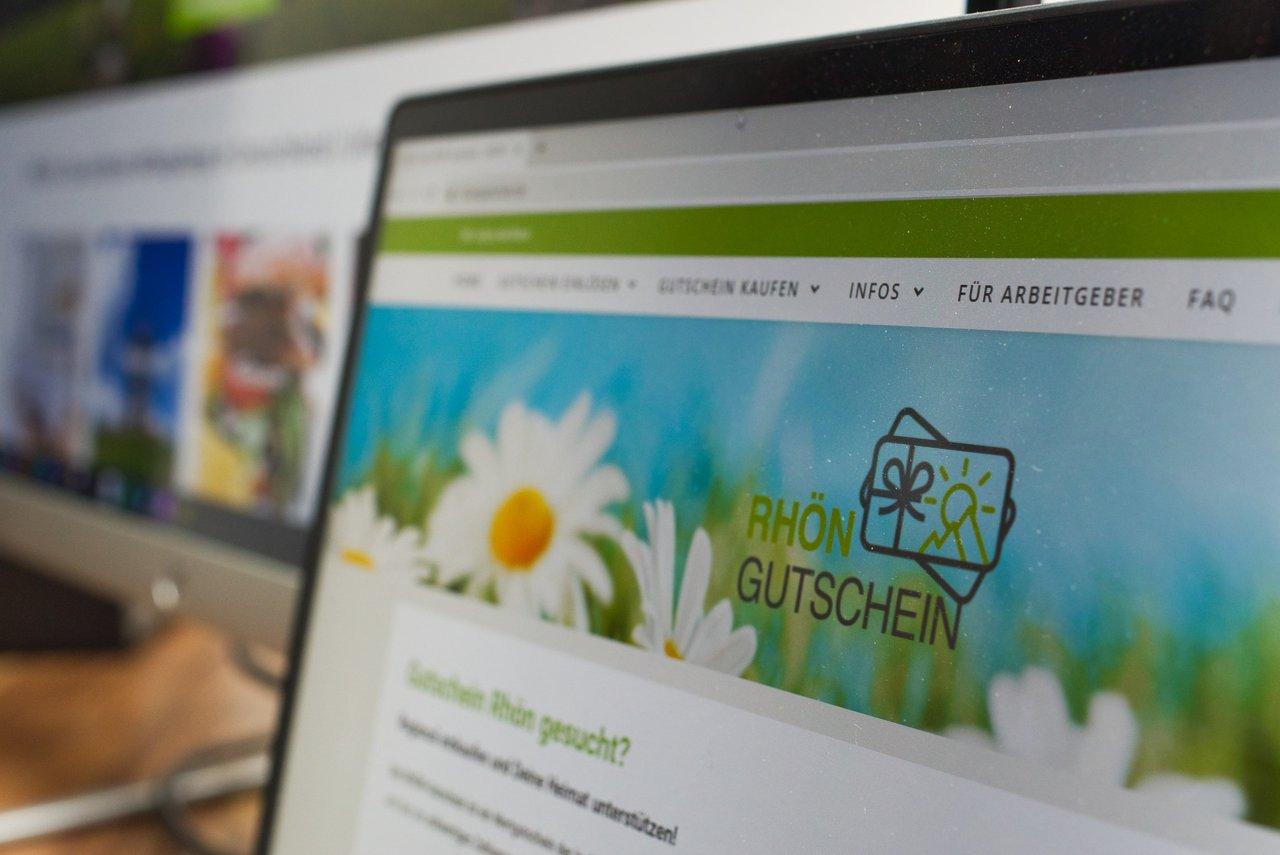 Website für den Rhön-Gutschein